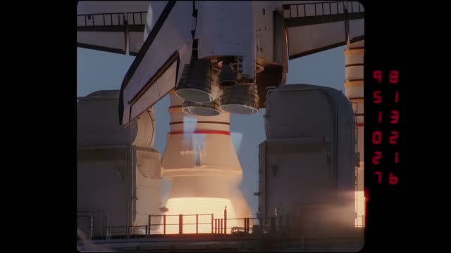space shuttle footage digitally remastered to uhd. - engine stock videos & royalty-free footage