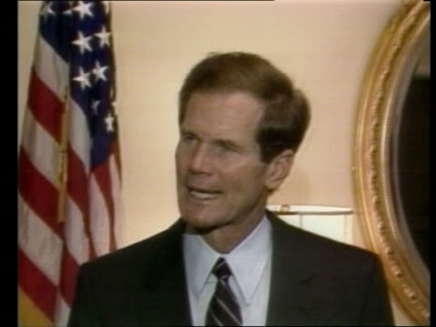 """washington dc: cms bill nelson pkf sof """"that test vote -- moment too soon"""" - other stock videos & royalty-free footage"""