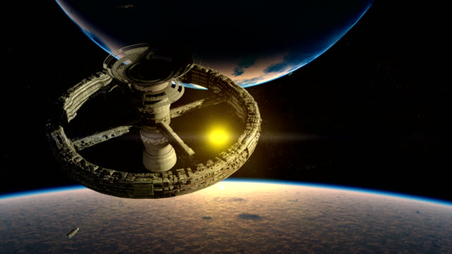Space station, ramjet