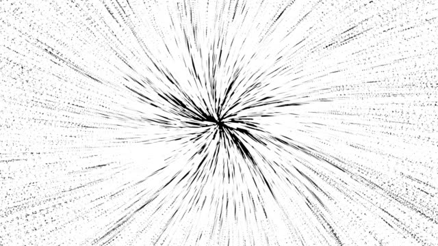 space travel abstract of warp or hyperspace motion in white star trail. exploding and expanding movement. motion graphic and animation background concept - distorted stock videos & royalty-free footage