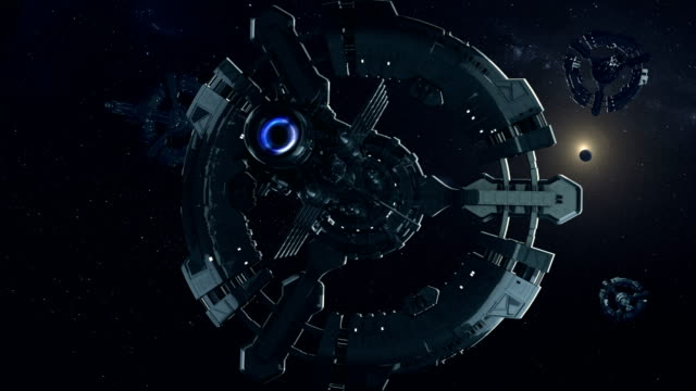 spaceship explore deep space. - spaceship stock videos & royalty-free footage
