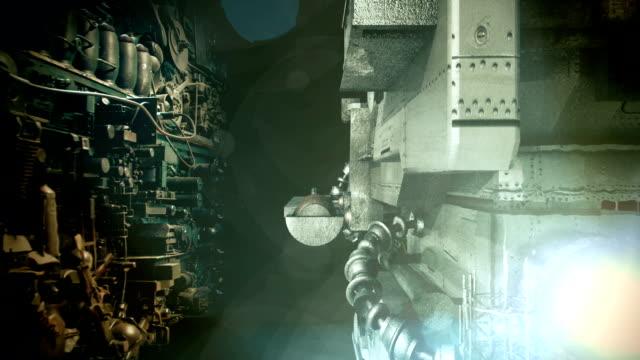 spaceship scene - military invasion stock videos & royalty-free footage