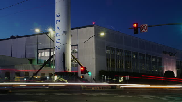 spacex los angeles - western usa stock videos & royalty-free footage