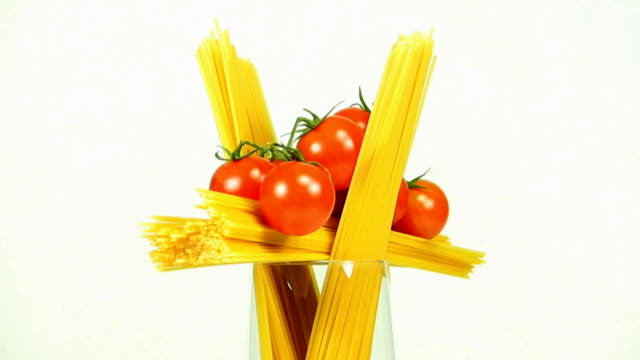 spaghetti and tomatoes - cherry tomato stock videos & royalty-free footage