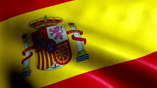spain flag - spanish flag stock videos and b-roll footage