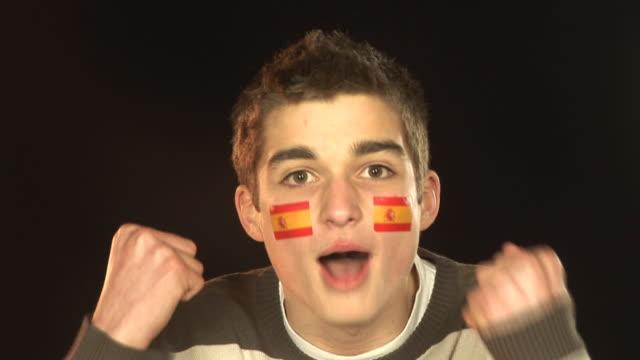 Spain football / soccer sports fan - HD & PAL