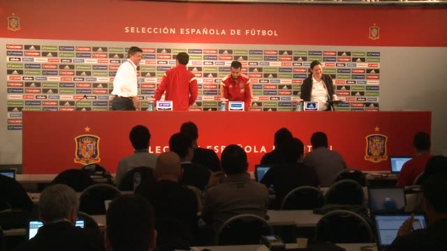 spain forward pedro rodriguez said monday the world champions cannot afford any more mistakes following their shock 51 hammering by the netherlands - oranje stock videos & royalty-free footage