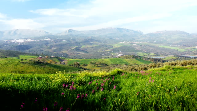 spain landscape time lapse - saturated color stock videos and b-roll footage