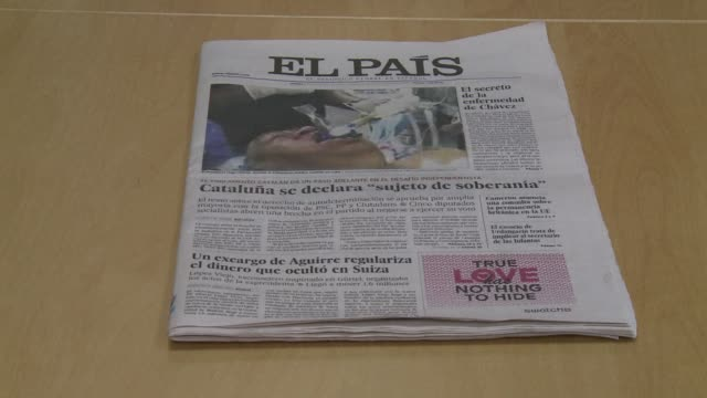 spain leading newspaper el pais apologised thursday after publishing a front page photograph supposedly of ailing venezuelan president hugo chavez in... - fake hospital stock videos & royalty-free footage
