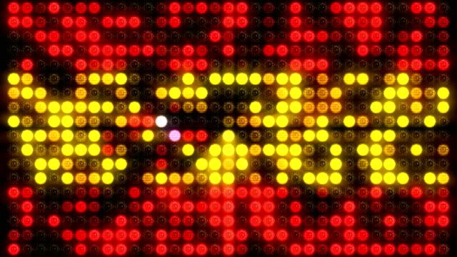 スペインライトウォールとパーティー4k ループ - 囲み塀点の映像素材/bロール