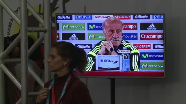 spain manager vicente del bosque defended goalkeeper iker casillas on saturday as the inquest into the world cup holders 51 drubbing by the... - inquest stock videos and b-roll footage