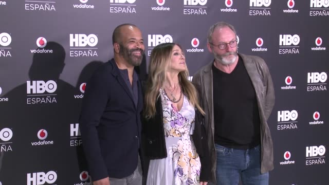 hbo spain presentation photocall on december 15 2016 in madrid spain - liam cunningham stock videos & royalty-free footage