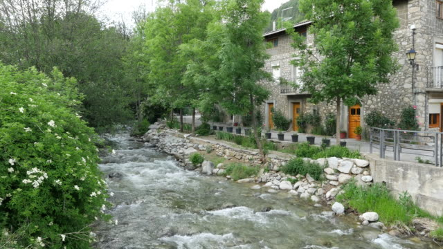 Spain Pyrenees Martinet small river