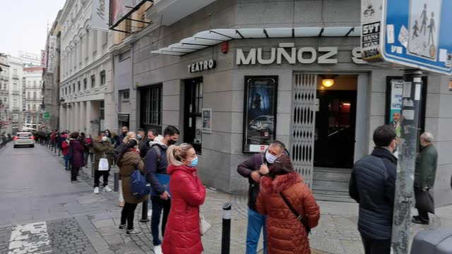 spain's christmas lottery which dates back to more than 200 years continues to draw great attention despite the coronavirus pandemic. a day before... - large stock videos & royalty-free footage