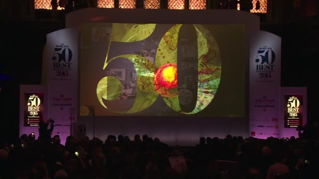 spains el celler de can roca was named the worlds top eatery by the worlds 50 best restaurants awards in london on monday - roca video stock e b–roll