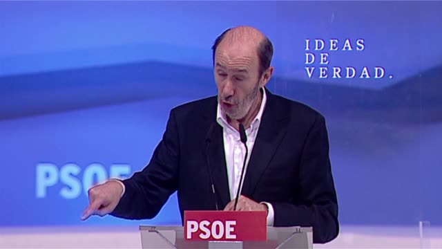 spain's governing socialist party put unemployment at the top of its agenda on sunday when it laid out its platform for november's elections as the... - socialist party stock videos and b-roll footage