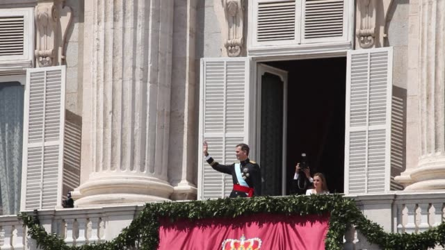 Spains new King Felipe VI swore to serve the crisis stricken nation as he launched his reign on Thursday cheered on by crowds of revellers in a sea...