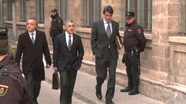 spain's princess cristina entered court under the gaze of the world's media on saturday to answer fraud accusations in a historic first for the... - social justice concept video stock e b–roll