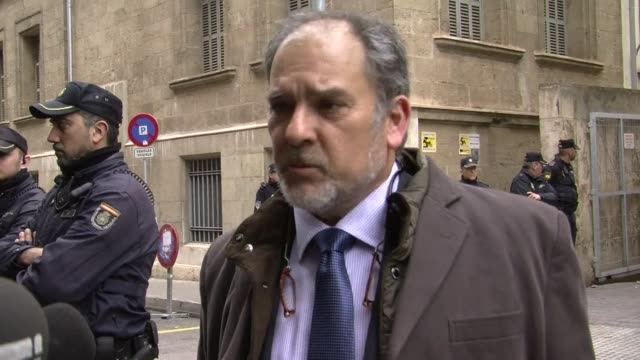 spain's princess cristina tried to distance herself from unprecedented fraud accusations saturday, telling a judge she had simply trusted her... - social justice concept video stock e b–roll