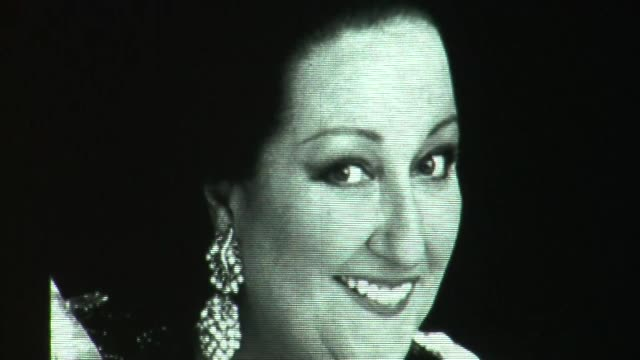 spain's world famous opera singer montserrat caballe has died in barcelona a source at the hospital where she was being treated says - montserrat caballé stock videos & royalty-free footage