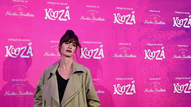 spanish actress paz vega and orson salazar attend cirque du soleil 'kooza' madrid premiere on october 29 2019 in madrid spain - arts culture and entertainment stock videos & royalty-free footage