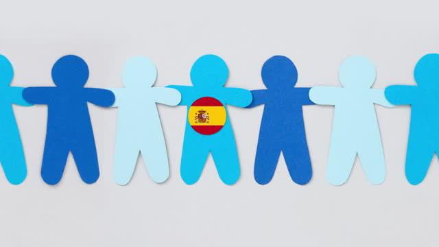 spanischer junge - männliche figur stock-videos und b-roll-filmmaterial