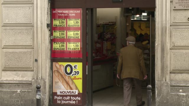 spanish discount supermarket group dia announced thursday it is selling its troubled french operations which employ some 7500 people in 900 stores - dia stock videos & royalty-free footage