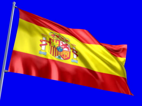 spanische flagge - authority stock-videos und b-roll-filmmaterial