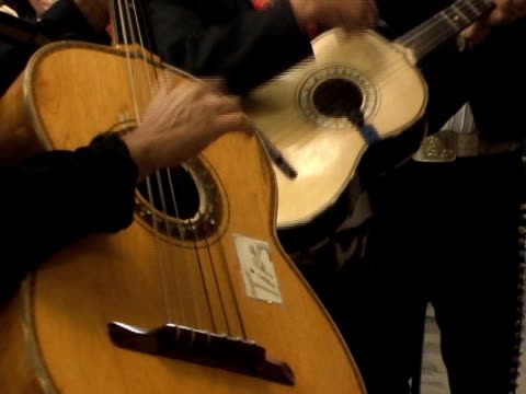 spanish guitar - north american tribal culture stock videos & royalty-free footage