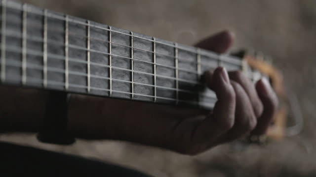 c/u spanish guitarist - string instrument stock videos and b-roll footage