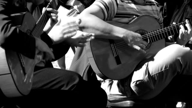 spanish music openair - flamenco dancing stock videos and b-roll footage