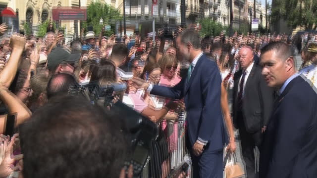 spanish royals visit seville on the 500 years commemoration of elcano and magallanes first round-the-world expedition - circumnavigation stock videos & royalty-free footage