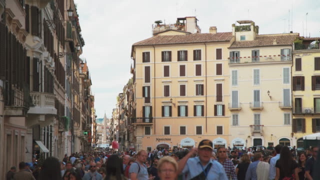 piazza di スパーニャローマ - ラツィオ州点の映像素材/bロール