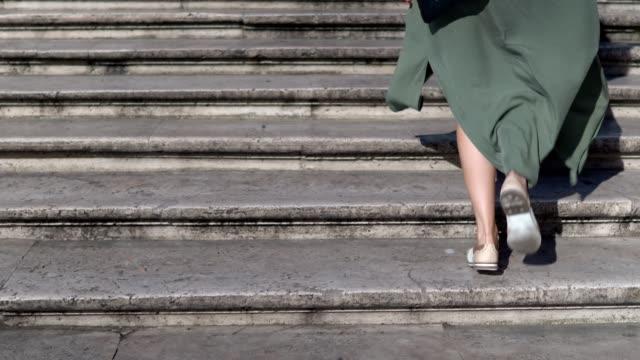 ローマ スペイン階段 - ラツィオ州点の映像素材/bロール