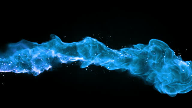 sparking blue flame - weaponry stock videos & royalty-free footage