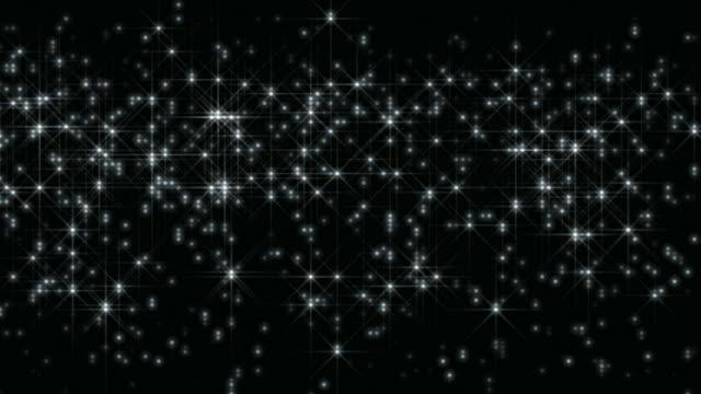 Glanz und Glitter-Hintergrund Loop
