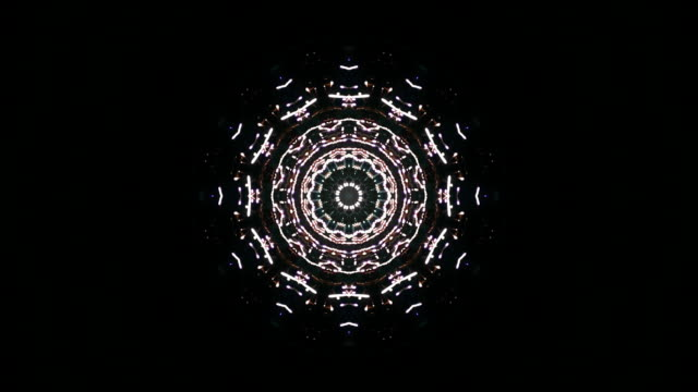 sparkle kaleidoscope - plusphoto stock videos & royalty-free footage