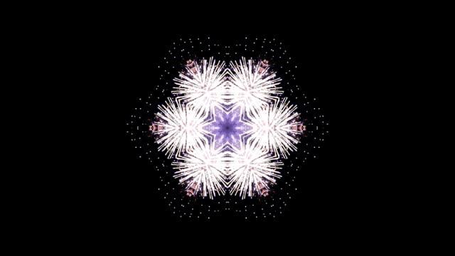 stockvideo's en b-roll-footage met sparkle kaleidoscope - plusphoto