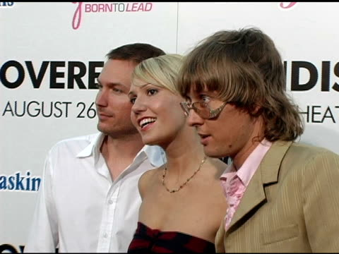 Sparkle Motion at the 'Undiscovered' Los Angeles Premiere at the Egyptian Theatre in Hollywood California on August 23 2005