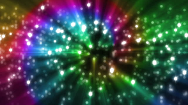 sparkle rainbow background loop - rainbow stock videos & royalty-free footage