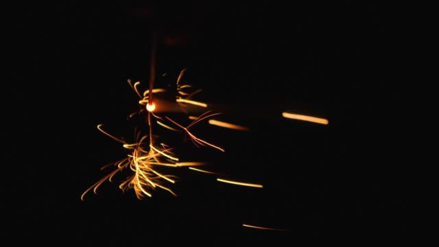 sparkler firework - kanazawa stock videos and b-roll footage