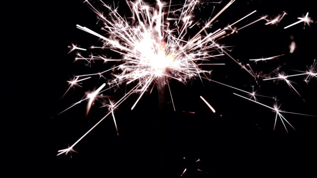 sparkler - single object stock videos & royalty-free footage