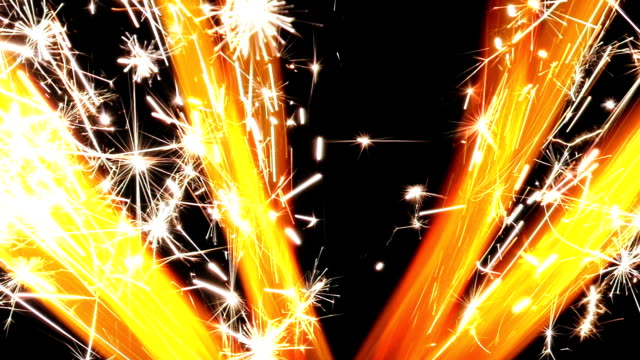 sparklers burning - explosive stock videos & royalty-free footage