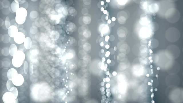 sparkling lights (loopable) - silver coloured stock videos & royalty-free footage