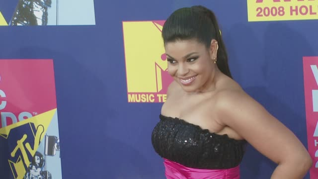 Sparks Jordin Sparks at the 2008 MTV Video Music Awards at Los Angeles CA