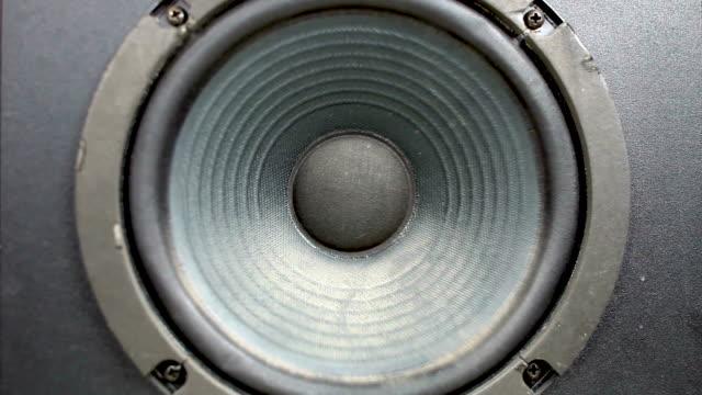 speaker membrane vibrating - shaking stock videos & royalty-free footage