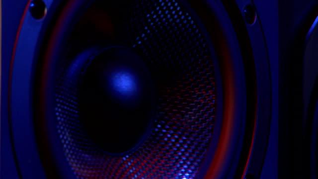 speaker - loudspeaker stock videos & royalty-free footage