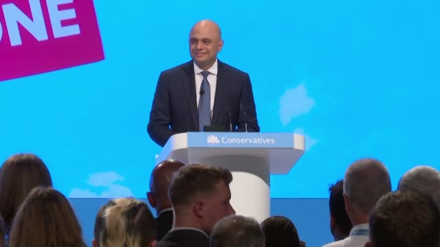 speaking at the conservative party's annual conference uk finance minister sajid javid promised that the economy will be ready for brexit whether or... - revolution stock videos & royalty-free footage