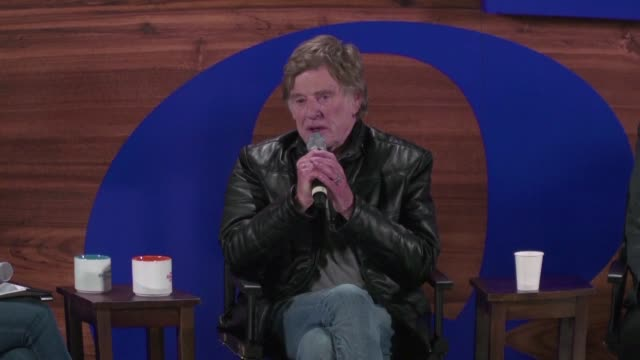speaking at the opening of the 2018 sundance film festival robert redford says the metoo and time's up movements are a tipping point that will change... - time's up social movement stock videos and b-roll footage