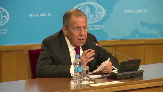 Speaking in Moscow Russian Foreign Minister Sergei Lavrov insists his country did not want to interfere in Britain's affairs and said Russia was...
